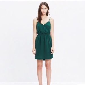 💚 MADEWELL Wrap Front Cami Dress size 2